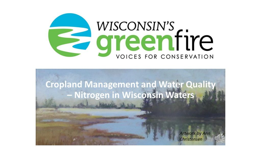 Nitrate in WI Waters