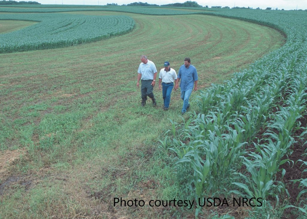 Farmers and NRCS in Lafayette County