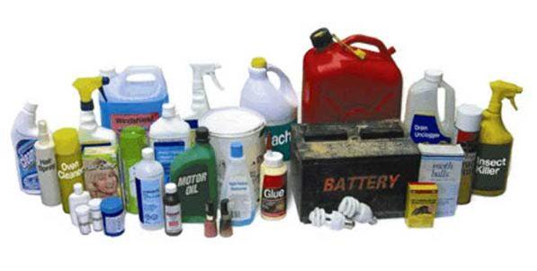 Household Hazardous Waste Materials Photo credit: city of Milwaukee
