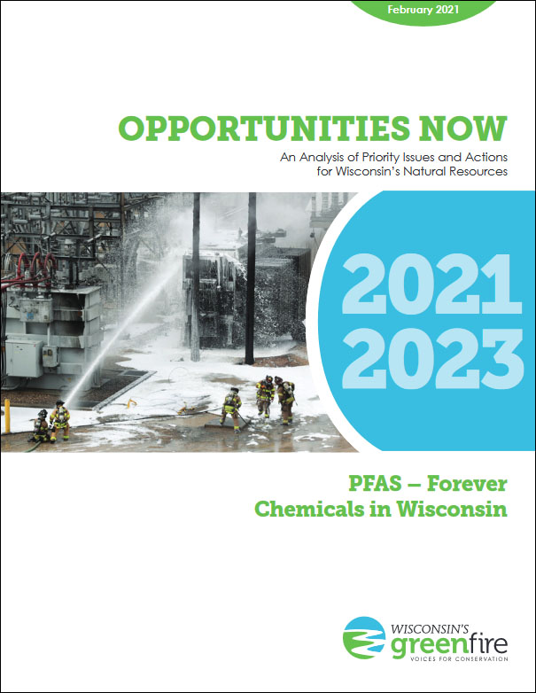 Cover Page of 2021-2023PFAS Report